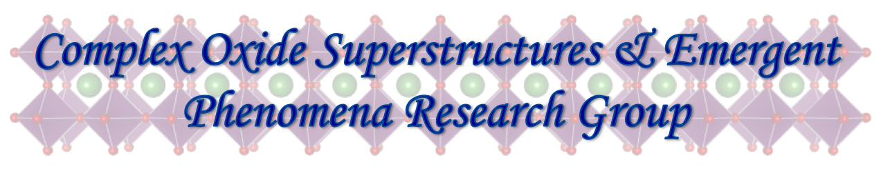 Complex Oxide Superstructures & Emergent Phenomena Research